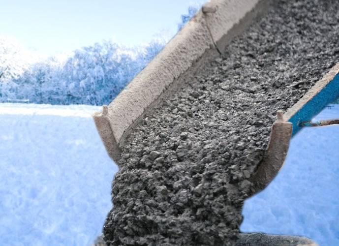 Морозостойкий бетон пропорции для приготовления цементного раствора для кладки