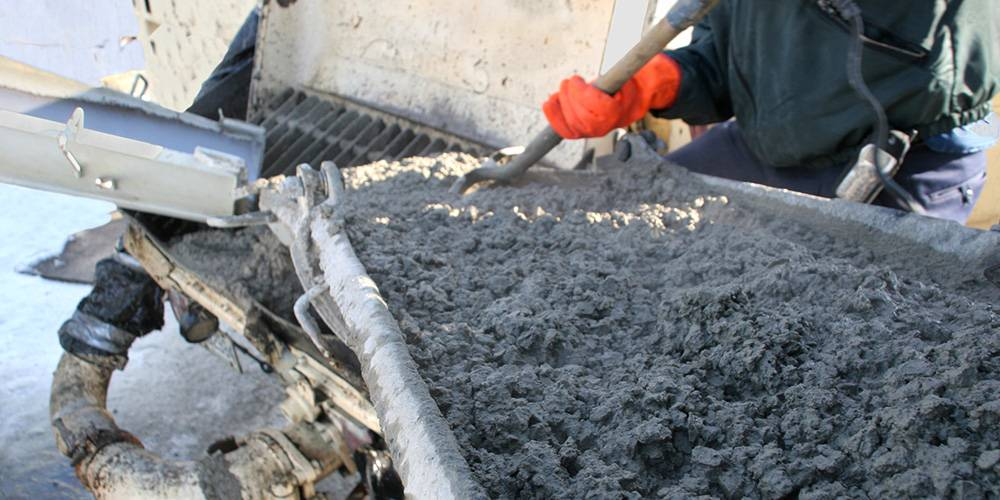 укладка бетонных смесей в зимнее время